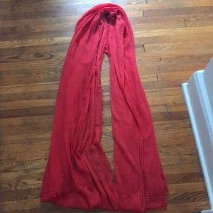 Red Zara scarf